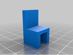 玩具小方椅